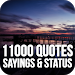 Download 11000 Quotes, Sayings & Status - Images Collection 6.0 APK