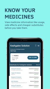 screenshot of 1mg - Pharmacy, Health Tests, Doctor Consultations version 10.1.1