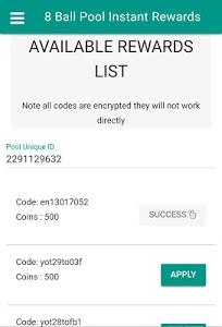Download Pool Instant Rewards - Free coins 4.0.1 APK