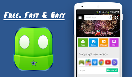 screenshot of AC Store Market tips version 1.0