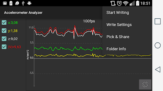 Download Accelerometer Analyzer 16.11.27 APK