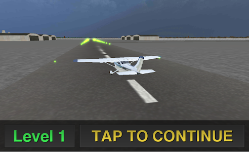 screenshot of Airplane Simulator Pilot 3D version 1.05