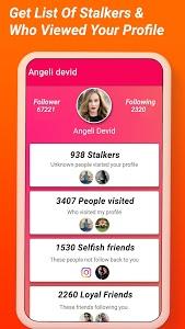screenshot of Analyzer For Instagram - Insta Unfollower, Stalker version 1.4