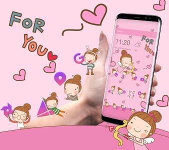 Download Angel Cartoon Theme 1.1.12 APK
