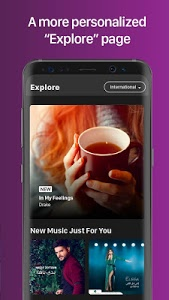 screenshot of Anghami - Free Unlimited Music version 4.0.49