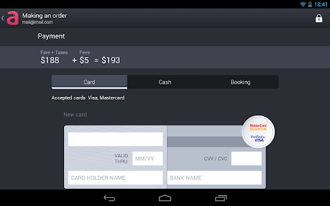 screenshot of Anywayanyday – flight and hotel booking version Varies with device