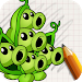 Download Art Drawings: Plant and Zombie 2.01 APK