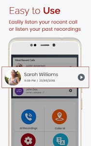 screenshot of Auto Call Recorder 2018 version 1.61
