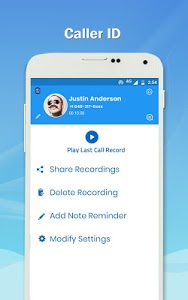 screenshot of Auto Call Recorder - Caller ID & Call Block version 1.66