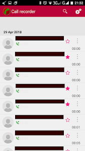 screenshot of Automatic call recording 2018 version 1.8.17
