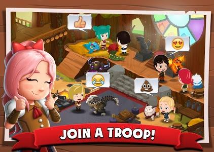 screenshot of Battle Camp version 3.5.3