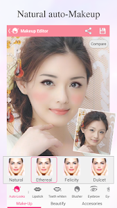 screenshot of Beauty Makeup – Photo Makeover version 1.1.0