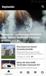 screenshot of Beyinsizler version 1.2.0
