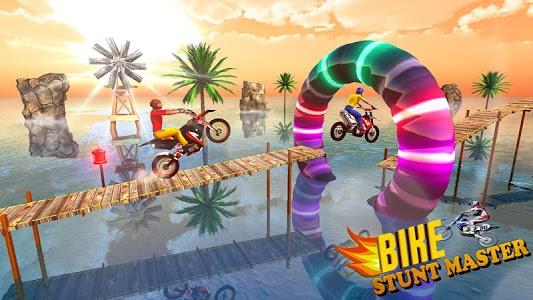 screenshot of Bike Stunt Tricks Master version 1.0