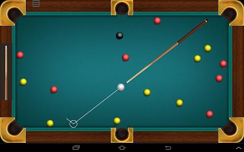 screenshot of Billiard free version 1.2.1