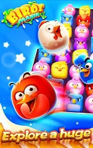 screenshot of Birds Mania Match 3 version 2.6.3151