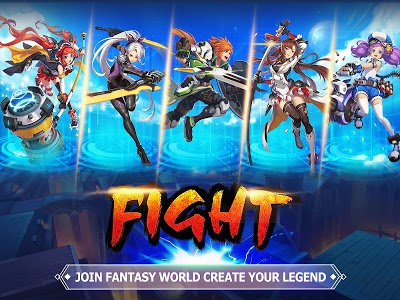 Download Blade & Wings: Future Fantasy 3D Anime MMORPG Game 1.8.8.1809101444.15 APK