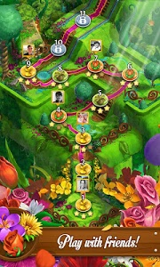 screenshot of Blossom Blast Saga version 63.1.0