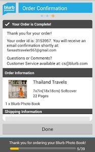Download Blurb Checkout 1.0 APK