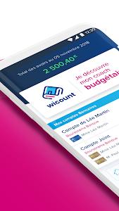 screenshot of Boursorama Banque version 6.1.8