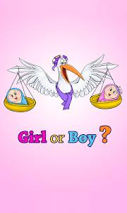 screenshot of Boy or girl - gender predictor. Plan baby's sex! version 10.0