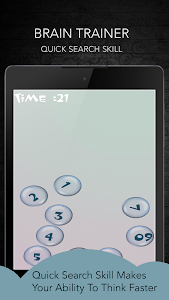 screenshot of Brain Training version 7.1.0