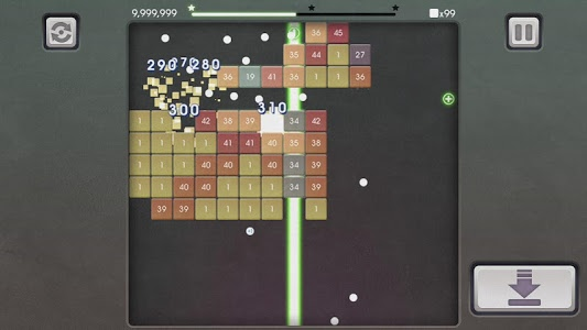 screenshot of Bricks Breaker Mission version 1.0.19