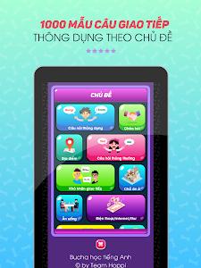 screenshot of Bucha học tiếng Anh - Từ vựng, Giao tiếp, Ngữ pháp version 6.3.0