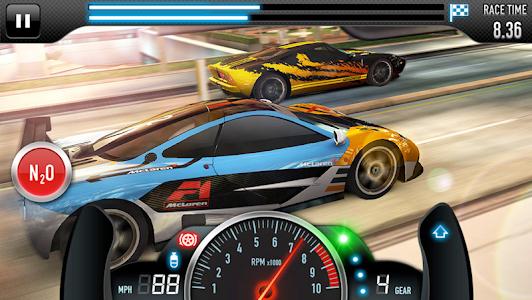screenshot of CSR Racing version 5.0.1