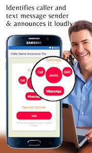 screenshot of Caller Name Announcer Pro version 4.70