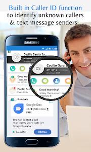 screenshot of Caller Name Announcer Pro version 4.50
