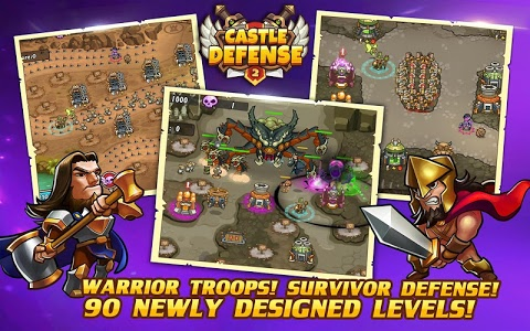 screenshot of Castle Defense 2 version 3.2.2