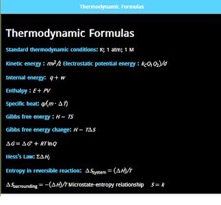 Download Chemistry Cheat Sheet 1.0.1 APK