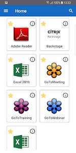 screenshot of Citrix Workspace version 18.9.1.0