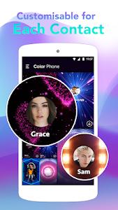 screenshot of Color Call - Caller Screen, LED Flash version 1.1.4