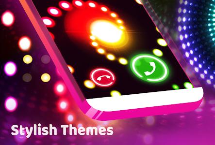 screenshot of Color Phone Flash - Call Screen Theme, LED version 1.2.8