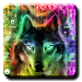 Download Colorful Wolf Keyboard Theme 2.0 APK