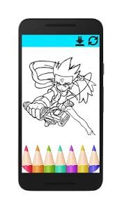 screenshot of Coloring BeyBlade version 1.0