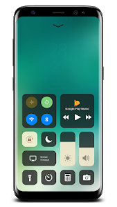 screenshot of Control Center IOS 11 version 1.6.0