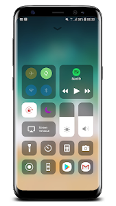screenshot of Control Center IOS 12 version 2.8.8