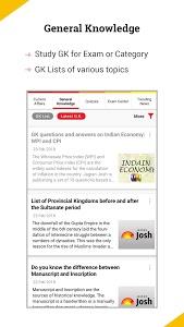 screenshot of Latest Current Affairs & GK in English & Hindi version 3.2