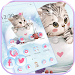 Download Cute Kitty Theme lovely Cup Cat Wallpaper 1.1.4 APK