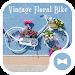 Download Cute Wallpaper Vintage Floral Bike Theme 1.0.0 APK