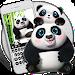 Download Cute panda keyboard 10001002 APK