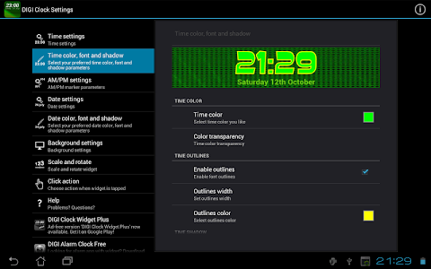 Download DIGI Clock Widget 1.27 APK