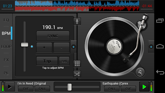 screenshot of DJ Studio 5 - Free music mixer version 5.4.1