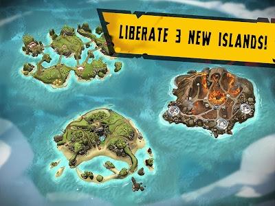 screenshot of Dead Island: Survivors - Zombie Tower Defense version 1.0