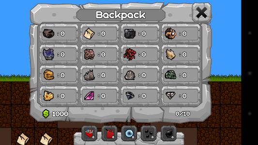 screenshot of Digger Machine - find minerals version 1.5.4