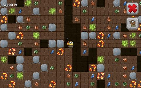 screenshot of Digger Machine find minerals version 1.8.1
