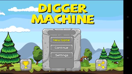 screenshot of Digger Machine - find minerals version 1.6.10